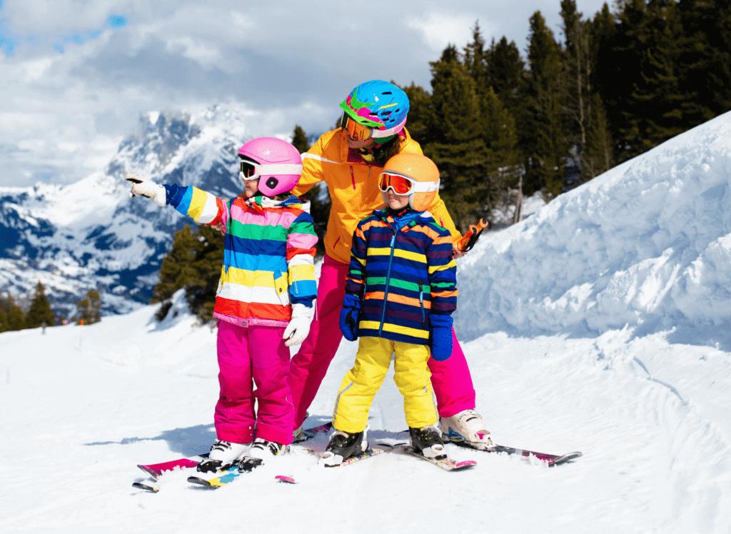 Ski fahren mit Kindern, Skiurlaub im Monte Vita