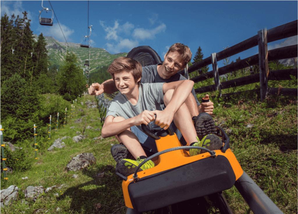 Alpine Coaster in Imst, Urlaub im Monte Vita