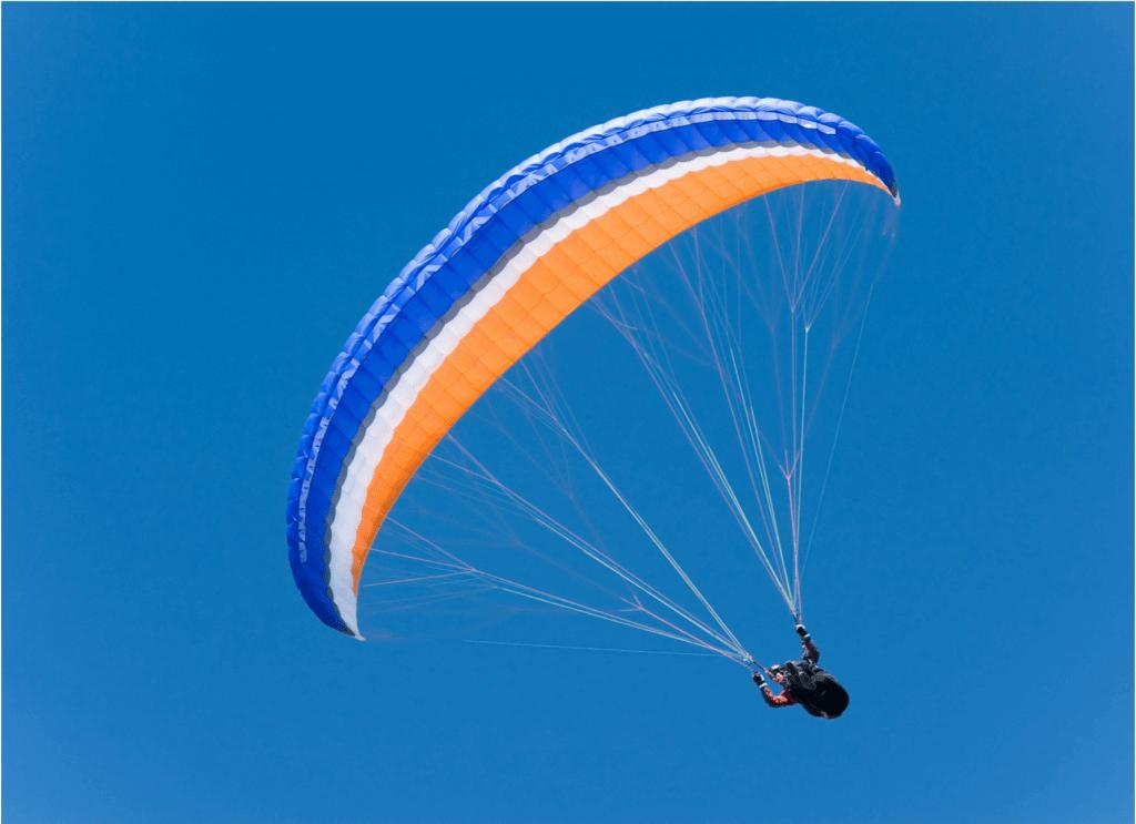 Paragliden in der Zugspitzarena
