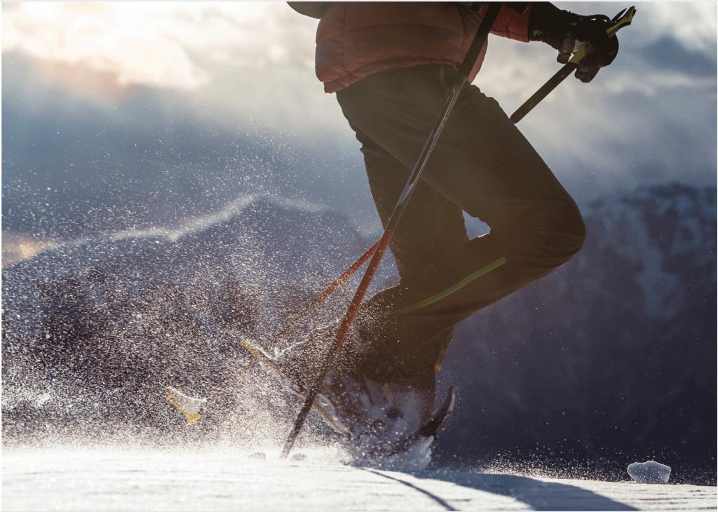 Schneeschuh wandern, Aktivurlaub Monte Vita